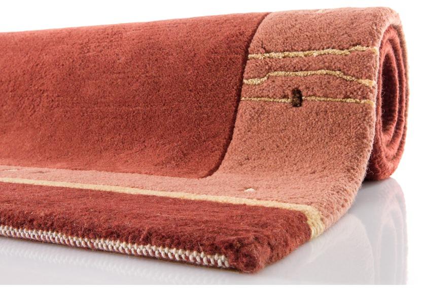 krishna nepal teppich 278 kupfer teppich nepalteppich bei tepgo kaufen versandkostenfrei. Black Bedroom Furniture Sets. Home Design Ideas