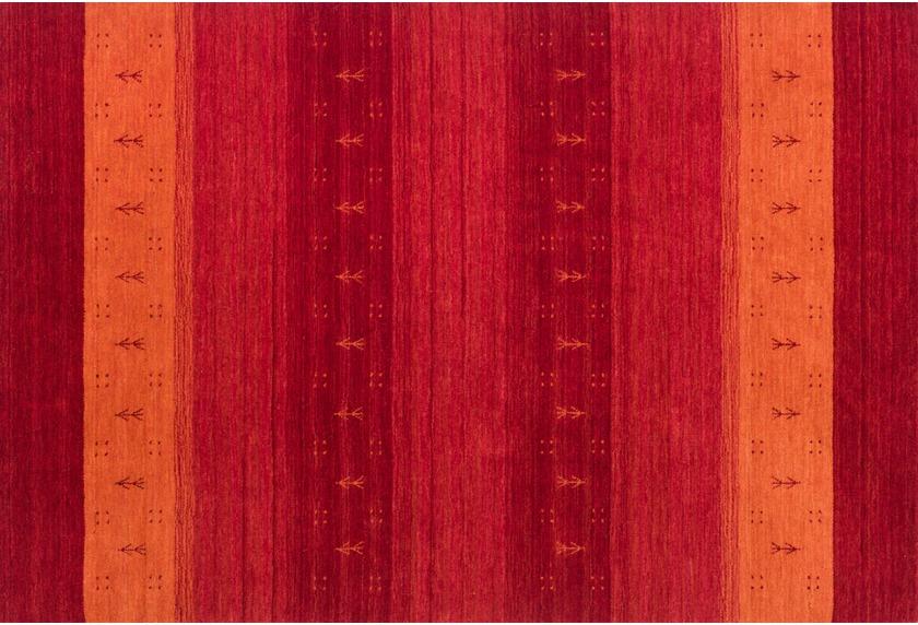 Luribaf Teppich gewebt 103 rot