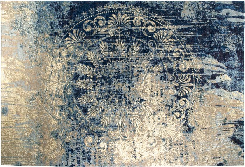 Luxor Living Vintage-Teppich Barock, blau-beige