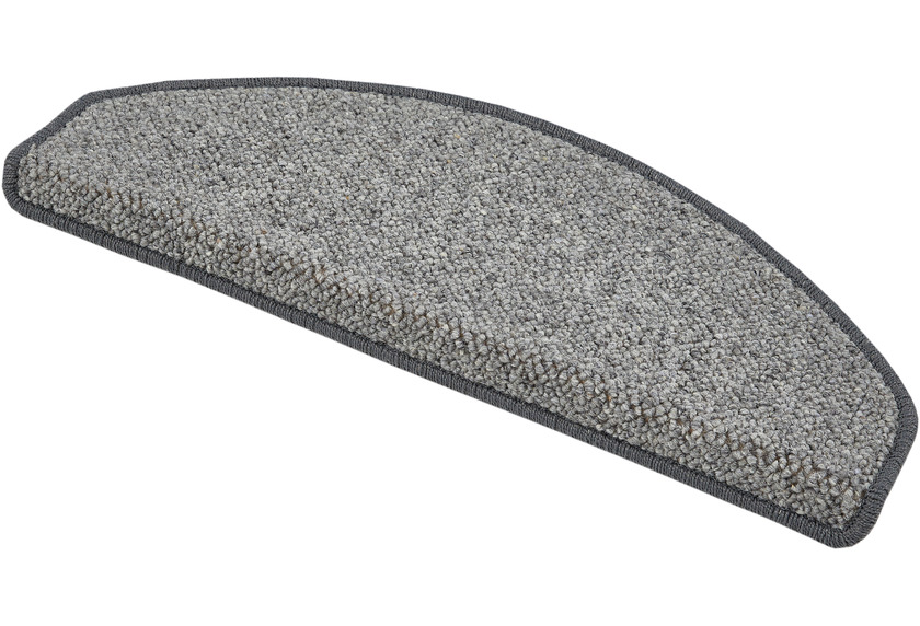 Luxor Living Stufenmatte Sheffield grau 15 Stück à 28 x 65cm