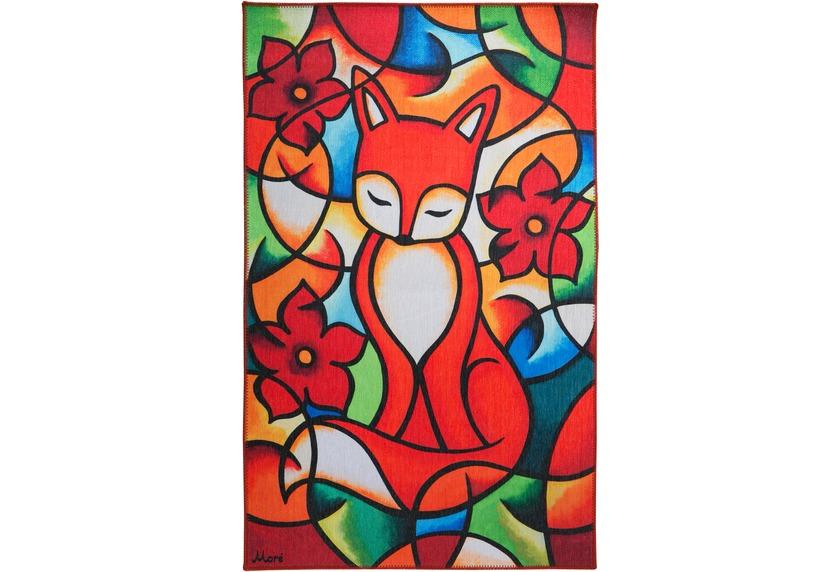 Luxor Living Kinderteppich Moré Red Fox