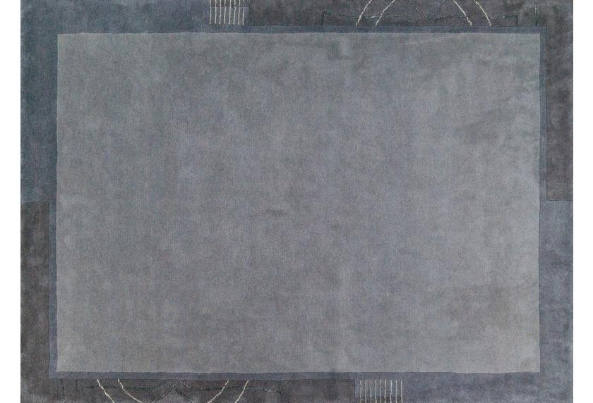 Luxor living teppich bareli grau teppich nepalteppich bei tepgo