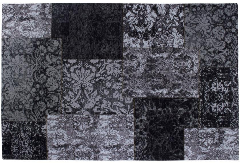Luxor Living Vintage-Teppich Barock schwarz/weiß