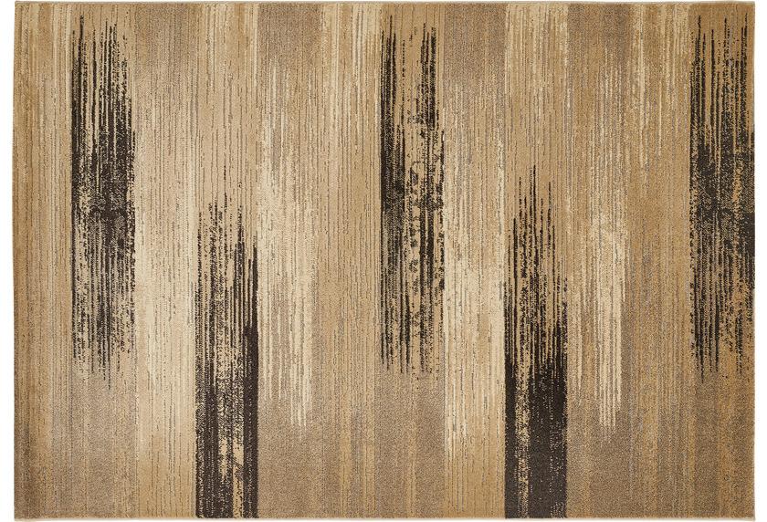 Luxor Living Teppich CASTELL Braun gemustert