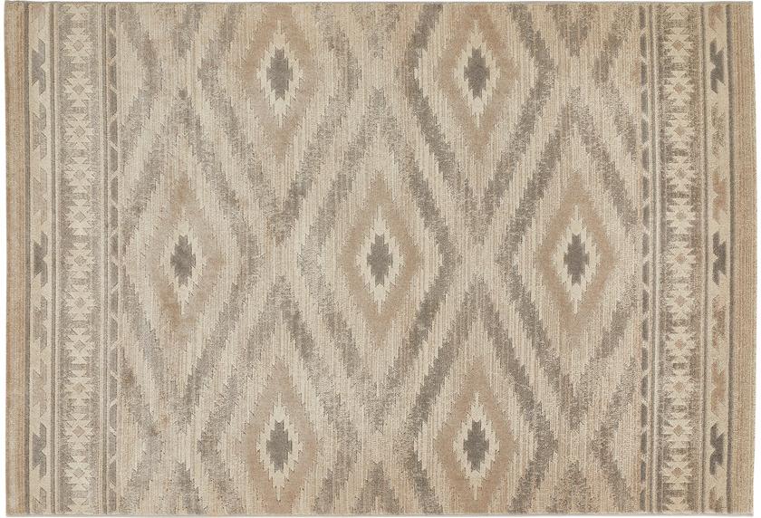 Luxor Living Teppich CASTELL Grau gemustert