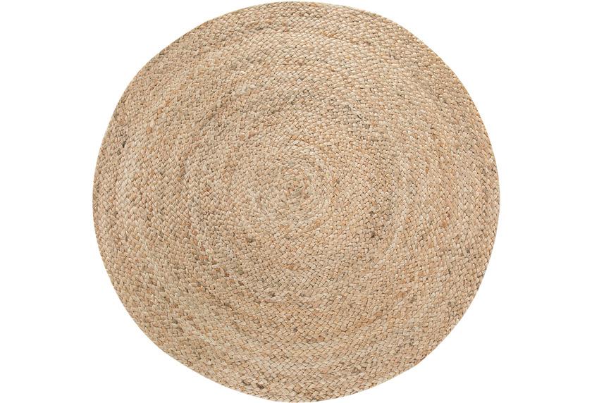 Luxor Living Teppich Mamda creme beige 120 rund