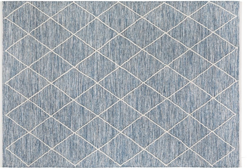 Luxor Living Handwebteppich Pantin, blau