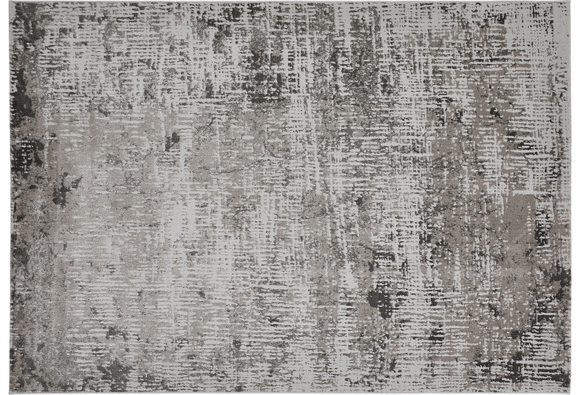 Luxor Living Teppich SARAGOSSA Dunkelgrau gemustert