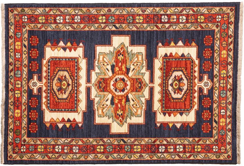 Luxor Living Teppich Sempura blau-rot