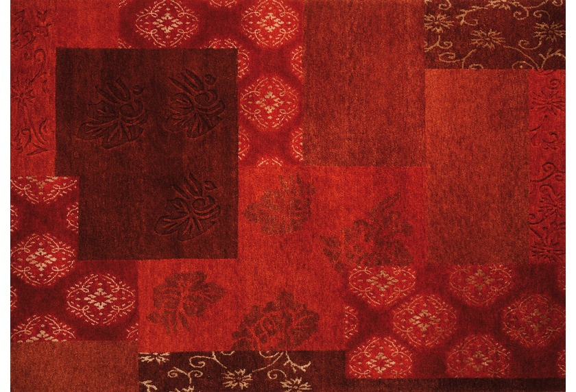 Luxor Living Teppich Tingri rot