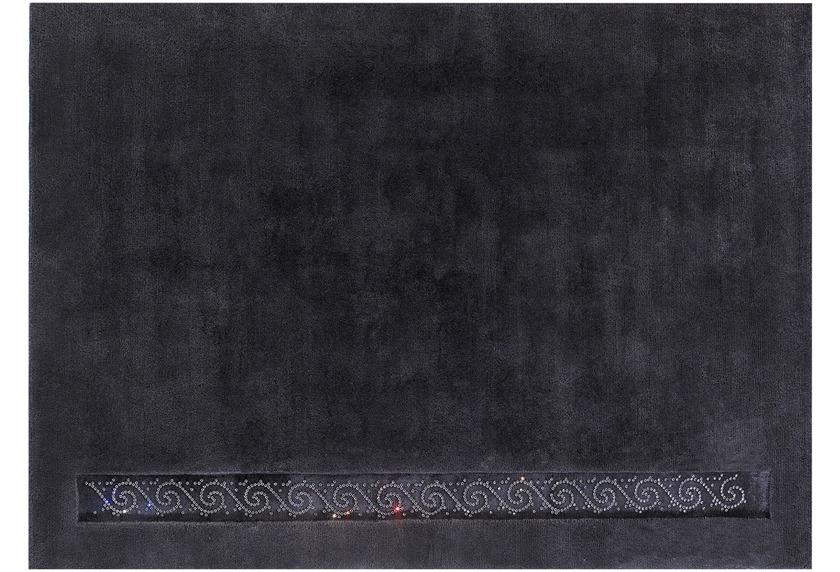 Luxor Style Nepalteppich Royal anthrazit