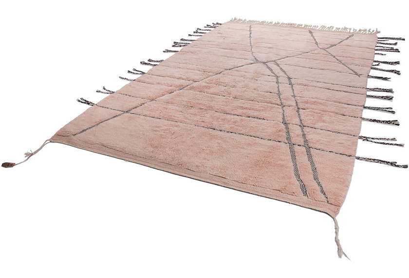 Tuaroc Teppich Beni Ourain #PP65 #PP65 rose 207 x 325 cm