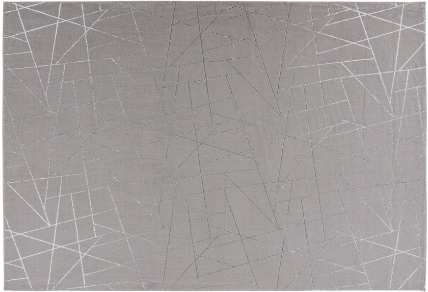 me gusta Teppich Bijou 125 Taupe / Silber