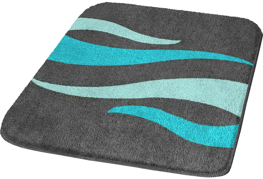 meusch badteppich flame t rkis badteppiche bei tepgo. Black Bedroom Furniture Sets. Home Design Ideas