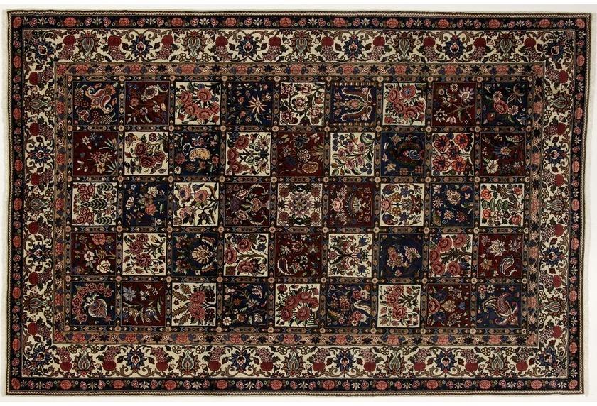 Oriental Collection Teppich Bakhtiar, Perserteppich, reine Wolle, 208 x 312 cm