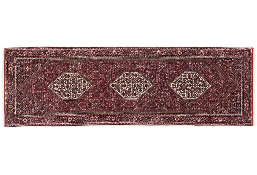 Oriental Collection Bidjar mit Seidenanteil 70 cm x 230 cm