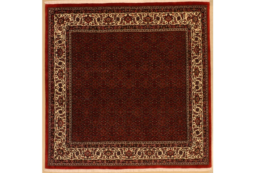 Oriental Collection Bidjar m.Seide rot 75985, Perser-Teppich