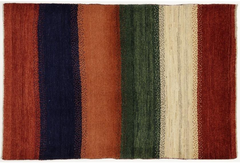 Oriental Collection Gabbeh-Teppich 107 x 160 cm gestreift