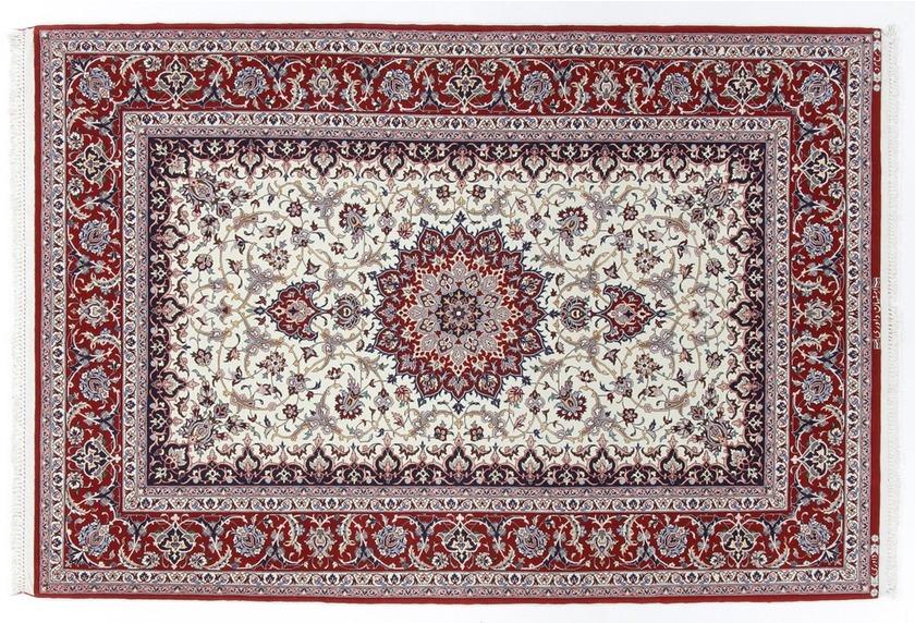 Oriental Collection Isfahan Teppich auf Seide 131 cm x 196 cm