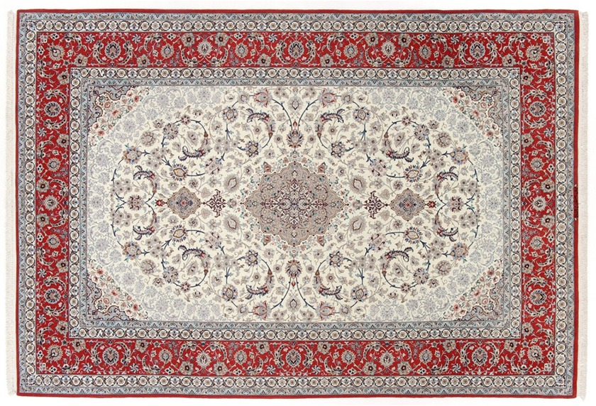 Oriental Collection Isfahan auf Seide 204 cm x 305 cm