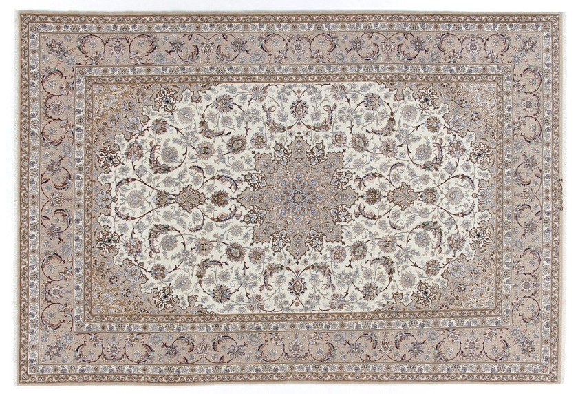 Oriental Collection Isfahan Teppich auf Seide 205 cm x 305 cm