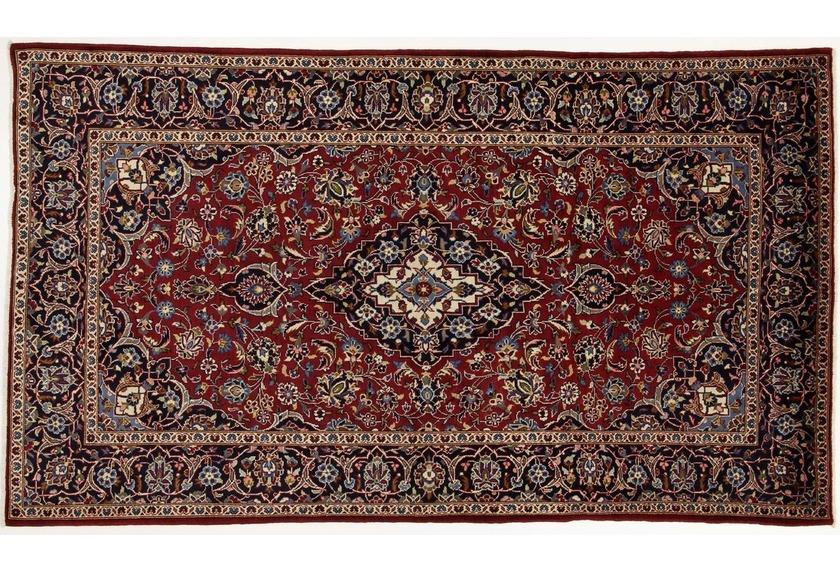 Oriental Collection Kashan Teppich 150 x 260 cm stark gemustert