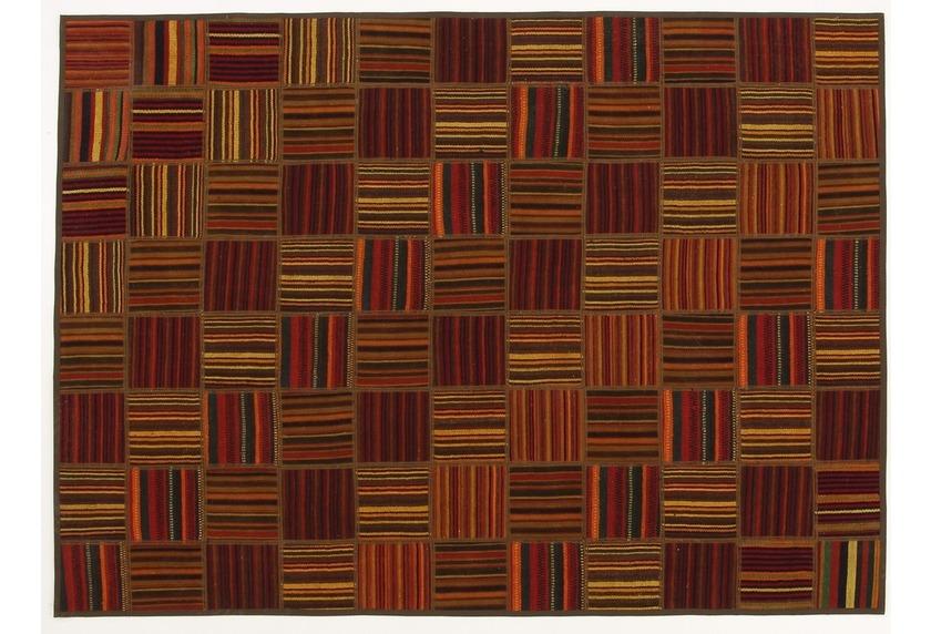 Oriental Collection Kelim Patchwork, 155 x 214 cm, handgewebt