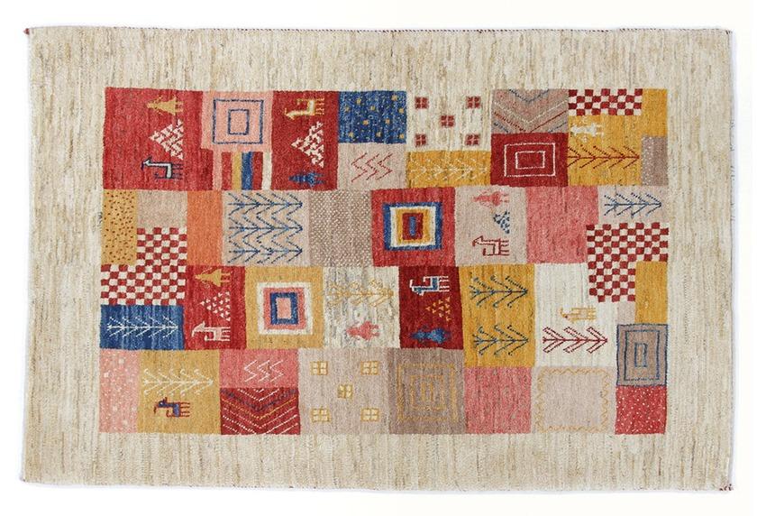 Oriental Collection Gabbeh-Teppich Loribaft 100 cm x 155 cm mehrfarbig