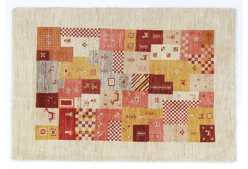 Oriental Collection Gabbeh-Teppich Loribaft 103 cm x 150 cm (mehrfarbig)