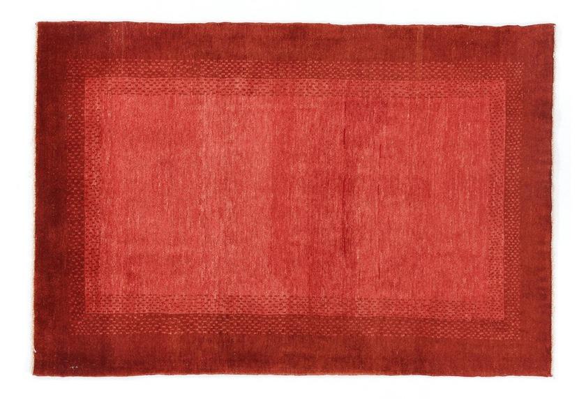 Oriental Collection Gabbeh-Teppich Loribaft 105 cm x 152 cm - warme Rottöne