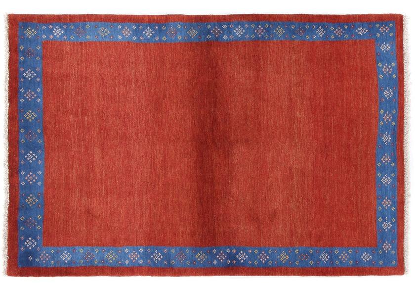 Oriental Collection Gabbeh-Teppich Loribaft 113 cm x 172 cm rot-blau
