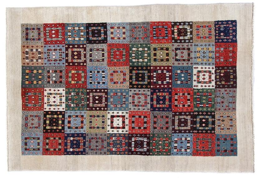 Oriental Collection Gabbeh-Teppich Loribaft 114 cm x 166 cm