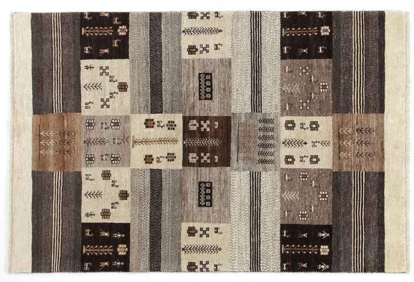 Oriental Collection Gabbeh-Teppich Loribaft 130 cm x 195 cm
