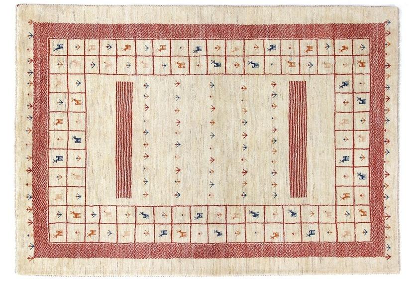 Oriental Collection Gabbeh-Teppich Loribaft 145 cm x 205 cm - mehrfarbig