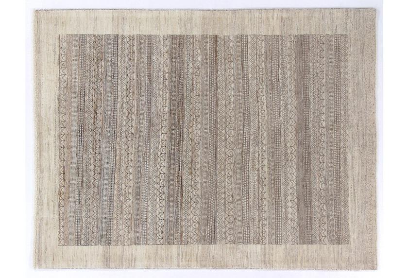 Oriental Collection Gabbeh-Teppich Loribaft 150 cm x 195 cm beige-grau