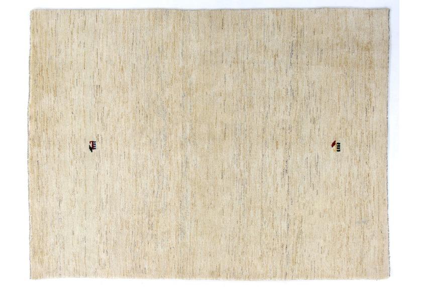 Oriental Collection Gabbeh-Teppich beige-marmoriert Loribaft 150 cm x 195 cm