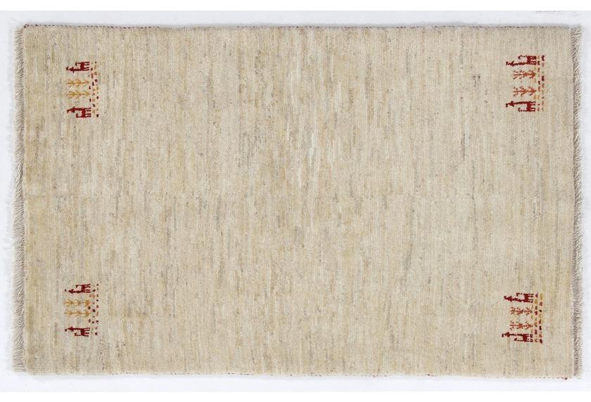 Oriental Collection Gabbeh-Teppich Loribaft 80 cm x 125 cm leicht gemustert beige