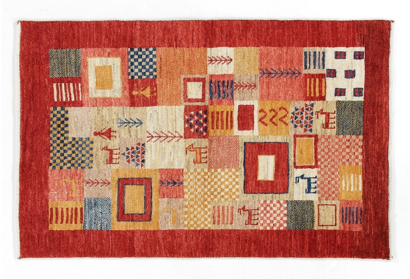 Oriental Collection Gabbeh-Teppich Loribaft 80 cm x 125 cm mehrfarbig