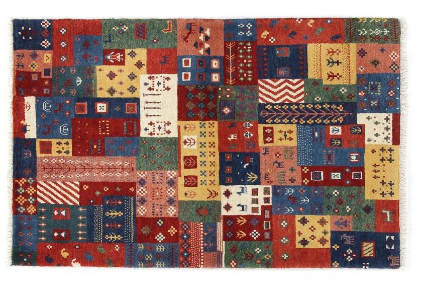 Oriental Collection Gabbeh-Teppich Loribaft 80 cm x 125 cm bunt