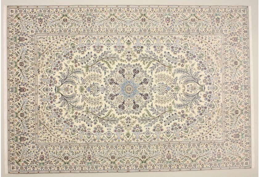 Oriental Collection Nain 6la beige 76007 Orient-Teppich