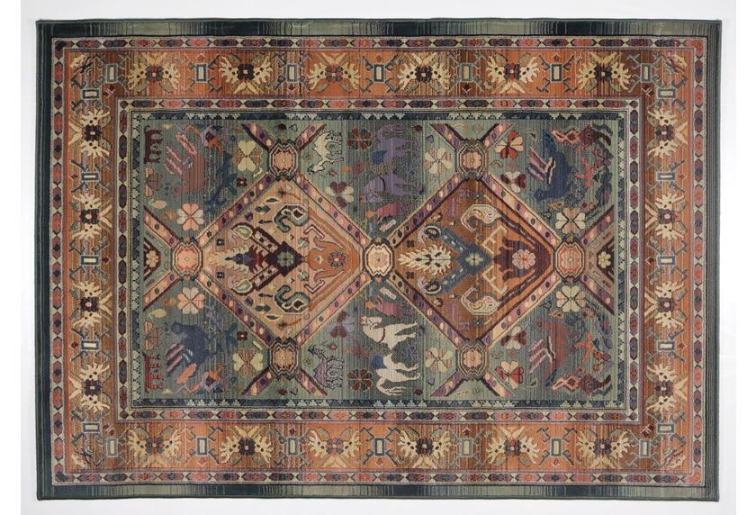 Oriental Collection Orient Teppich, Gabiro, 13, grün