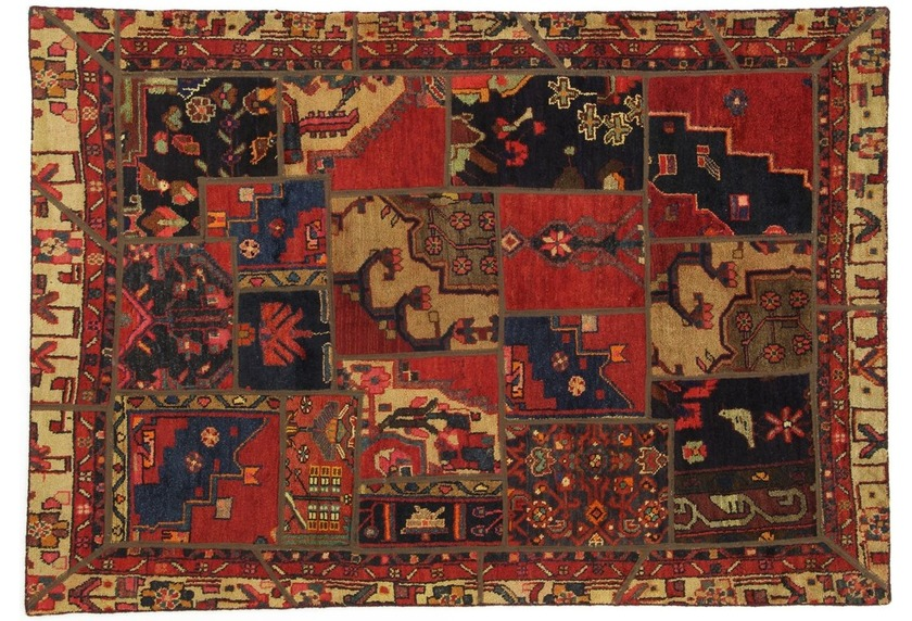 Oriental Collection Patchwork Persia, 145 x 205 cm