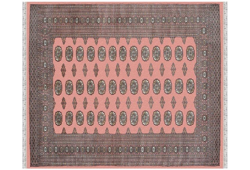 Oriental Collection Peshawar Bouchara Pakistan rose, Orient-Teppich