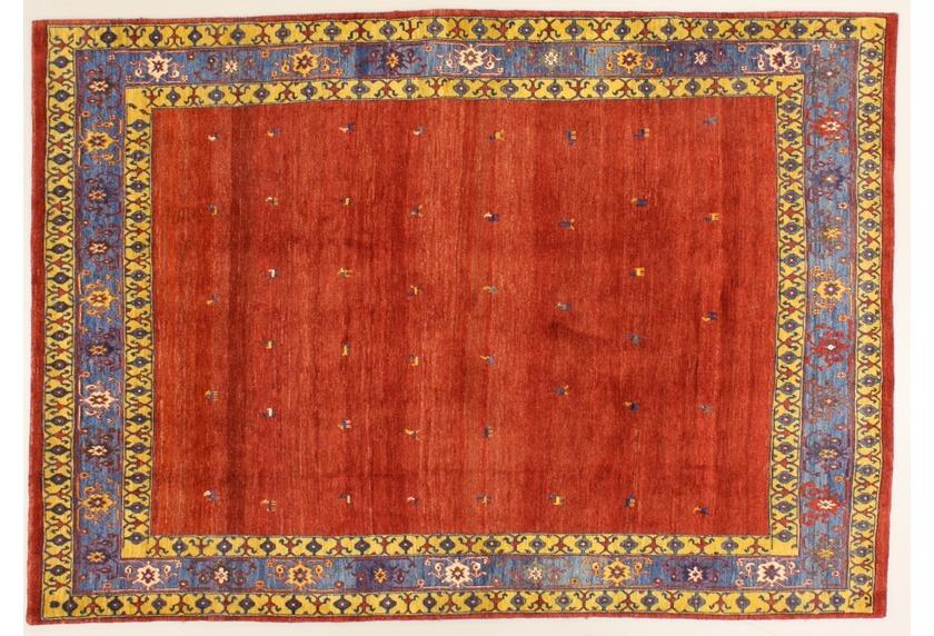 Oriental Collection Rissbaft Rot 99676 Orient Teppich Gabbeh