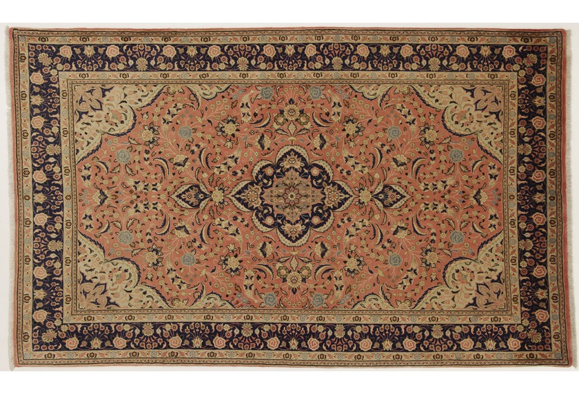 Oriental Collection Perser Teppich, Sarough, handgeknüpft, 140 x 225 cm