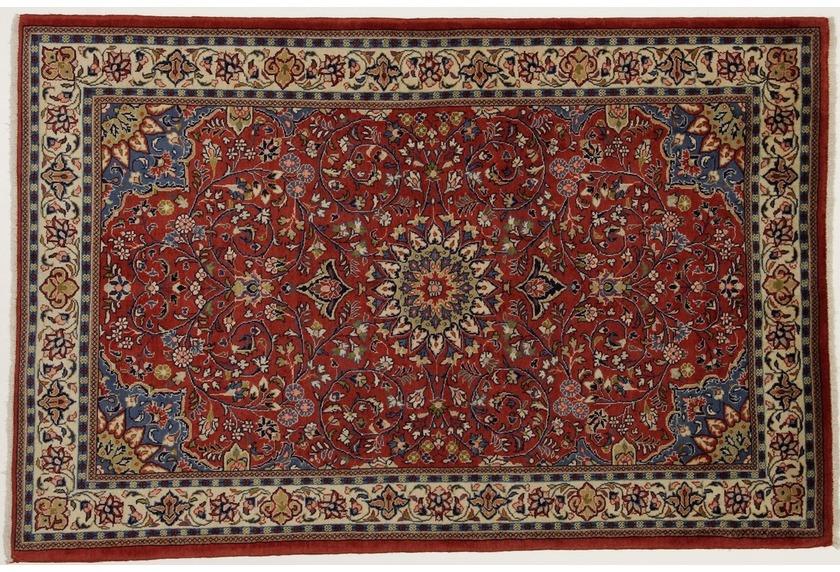 oriental collection teppich sarough perser teppich handgekn pft reine schurwolle florale. Black Bedroom Furniture Sets. Home Design Ideas