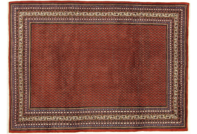 Oriental Collection Teppich, Sarough Mir, Perser, handgeknüpft, reine Schurwolle, 220 x 300 cm