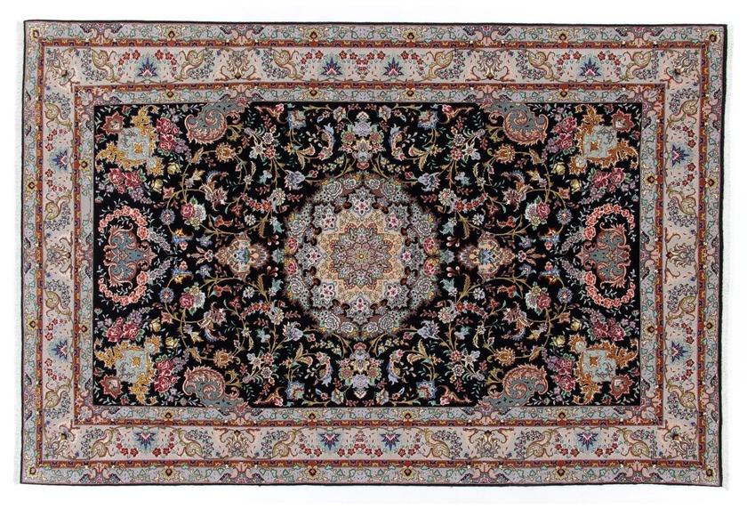 Oriental Collection Täbriz Teppich 50 radj 190 x 300 cm