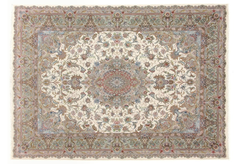 Oriental Collection Tabriz 70radj auf Seide 150 cm x 210 cm