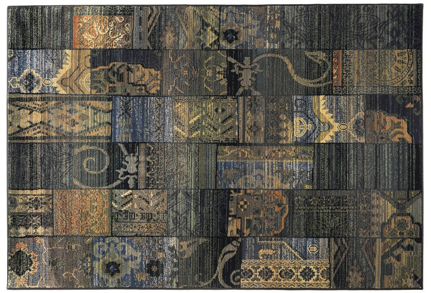Oriental Collection Orient Teppich, Gabiro, 5504, blau